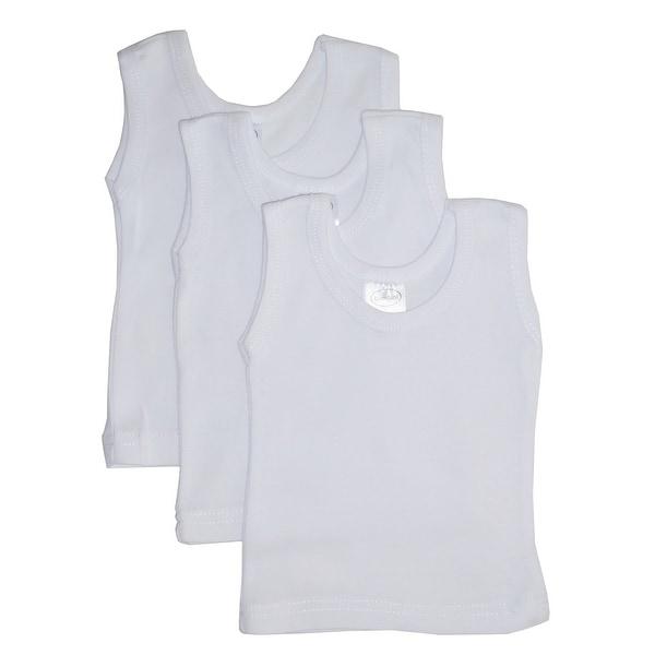 Bambini White Tank Top 3 Pack - Size - Newborn - Unisex