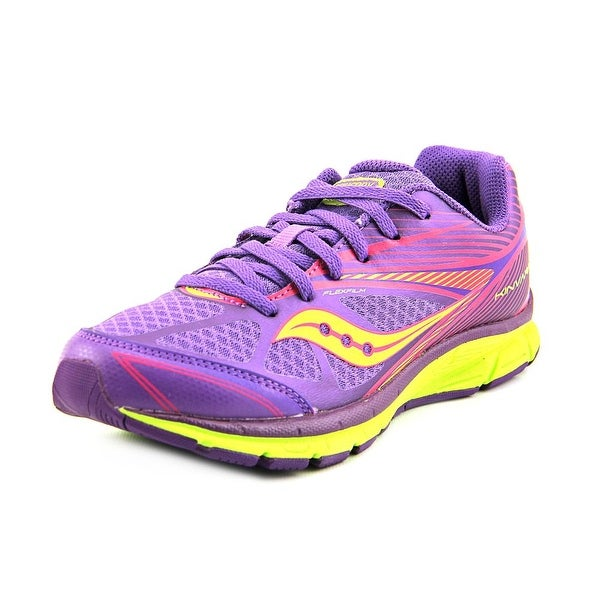 Saucony Kinvara 4 Round Toe Synthetic Running Shoe