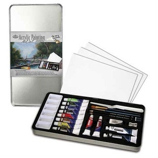 Royal Brush - Acrylic Painting Art Tin Set