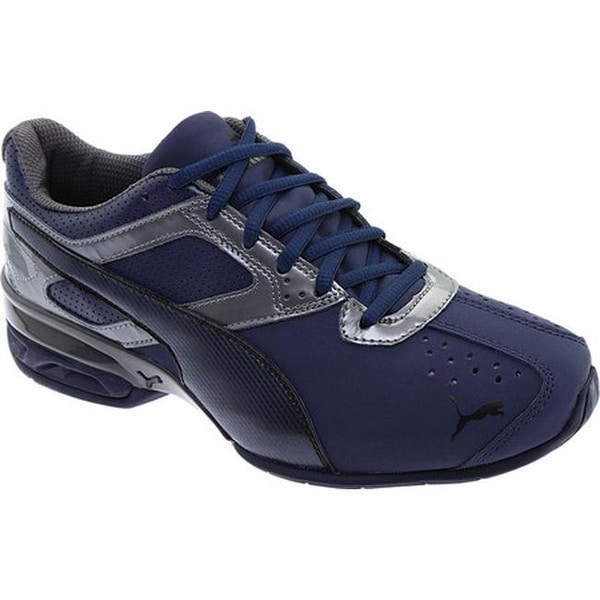 3ddc2748fd02fa Shop PUMA Men s Tazon 6 FM Sneaker Peacoat Iron Gate PUMA Black ...