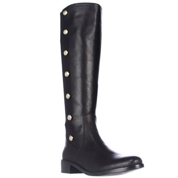 Vince Camuto Jacilla Buttoned Tall Dress Boots - Black