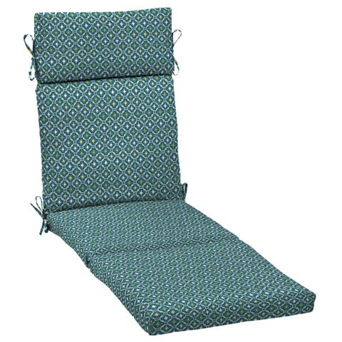 Arden Selections Alana Tile Chaise Cushion - 72 in L x 21 in W x 3 in H