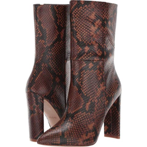 Aldo Womens Schuler Pointed Toe Mid-Calf Fashion Boots