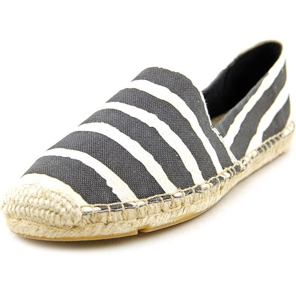 Lucky Brand Tashii Women Round Toe Canvas Black Espadrille
