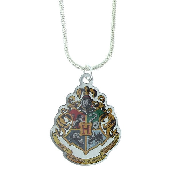 Harry Potter Howarts Crest Cord Necklace