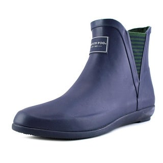 London Fog Piccadilly Round Toe Synthetic Rain Boot