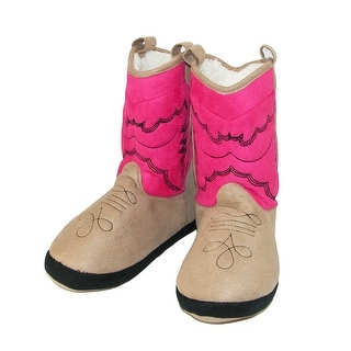 Lazy One Women's Cowboy Bootie Slippers