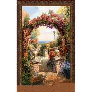 FineArtTapestries 2756-WH Arch Wall Tapestry