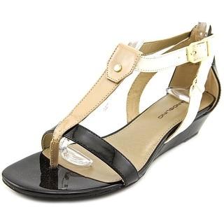 Bandolino Pooky Open Toe Synthetic Wedge Sandal