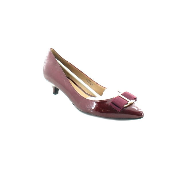 Isaac Mizrahi Gina Women's Heels Dark Red