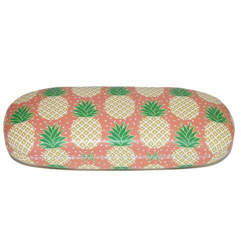 Sass & Belle Tropical Pineapple Glasses Case - one size
