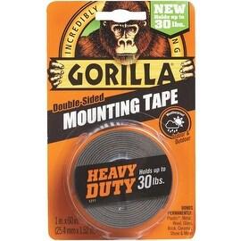 Gorilla 30Lb Blk Mounting Tape