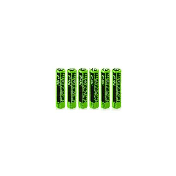 Replacement Panasonic NiMH AAA Battery (6 Pack)