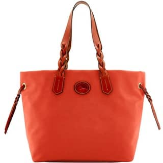Dooney & Bourke Nylon Shopper (Introduced by Dooney & Bourke at $139 in Dec 2016) - Tomato|https://ak1.ostkcdn.com/images/products/is/images/direct/66a2e8ffe3f9313f8e96f2e9557a7b85de885a4e/Dooney-%26-Bourke-Nylon-Shopper-%28Introduced-by-Dooney-%26-Bourke-at-%24139-in-Dec-2016%29.jpg?impolicy=medium