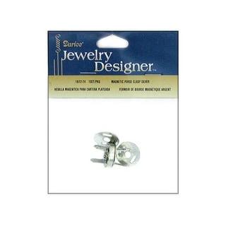 Darice JD Purse Magnetic Purse Clasp Set Silver