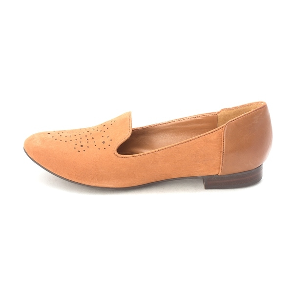 Marc Fisher Womens Comrad Leather Closed Toe Loafers - 7