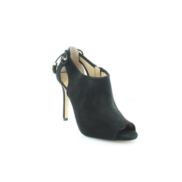 Michael Kors Jennings Bootie Women's Heels Black