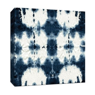 """PTM Images 9-147460  PTM Canvas Collection 12"""" x 12"""" - """"Shibori Square"""" Giclee Patterns and Designs Art Print on Canvas"""