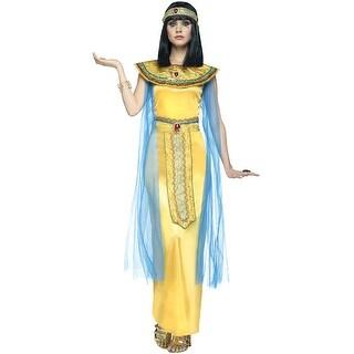 Golden Cleopatra Adult Costume, Pharaohs Gem Costume