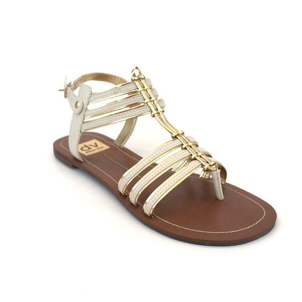 60069ac93 Shop DV by Dolce Vita Womens Dustin Leather Split Toe Casual Strappy Sandals  - Free Shipping On Orders Over  45 - Overstock - 14524403
