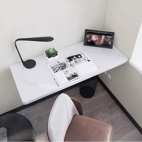 Wall Mounted Folding Table Floating Kitchen Dining Table Computer Desk