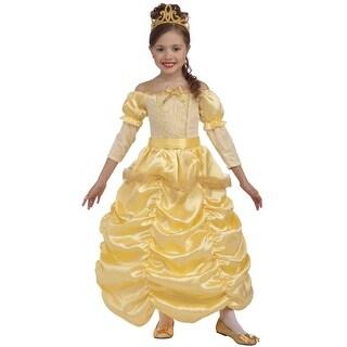 Forum Novelties Beautiful Princess Child Costume (Small) - YELLOW - Small
