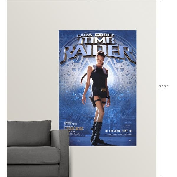 Shop Lara Croft Tomb Raider 2001 Poster Print Overstock