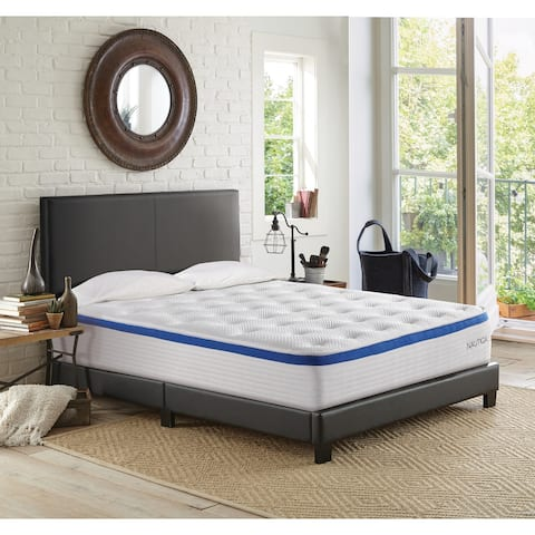 "Nautica Home 12"" Renew Firm Hybrid Mattress"