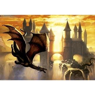 Sunset Dragon 1000 Piece Puzzle