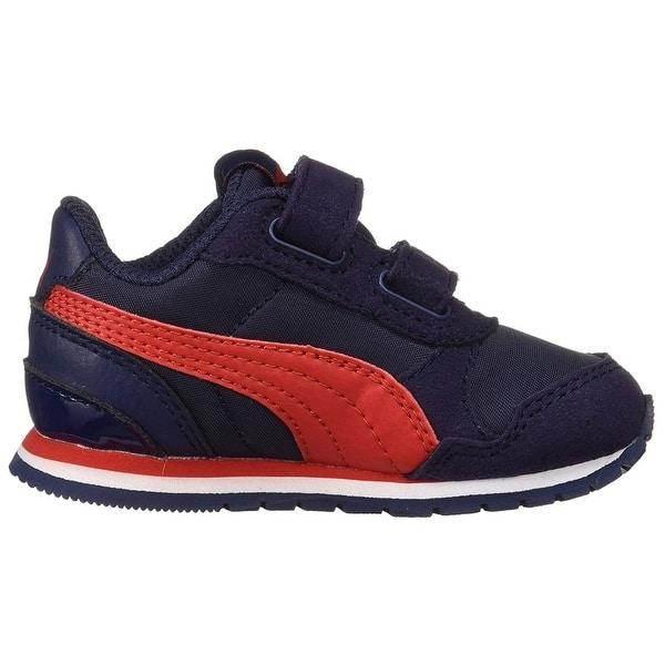 Puma Unisex-Kids St Runner NL Sneaker Rock Ridge White 13 US Little Kid