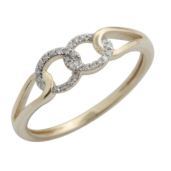 Lovely Round Brilliant Cut Natural White Diamond Light Weight Designer Ring