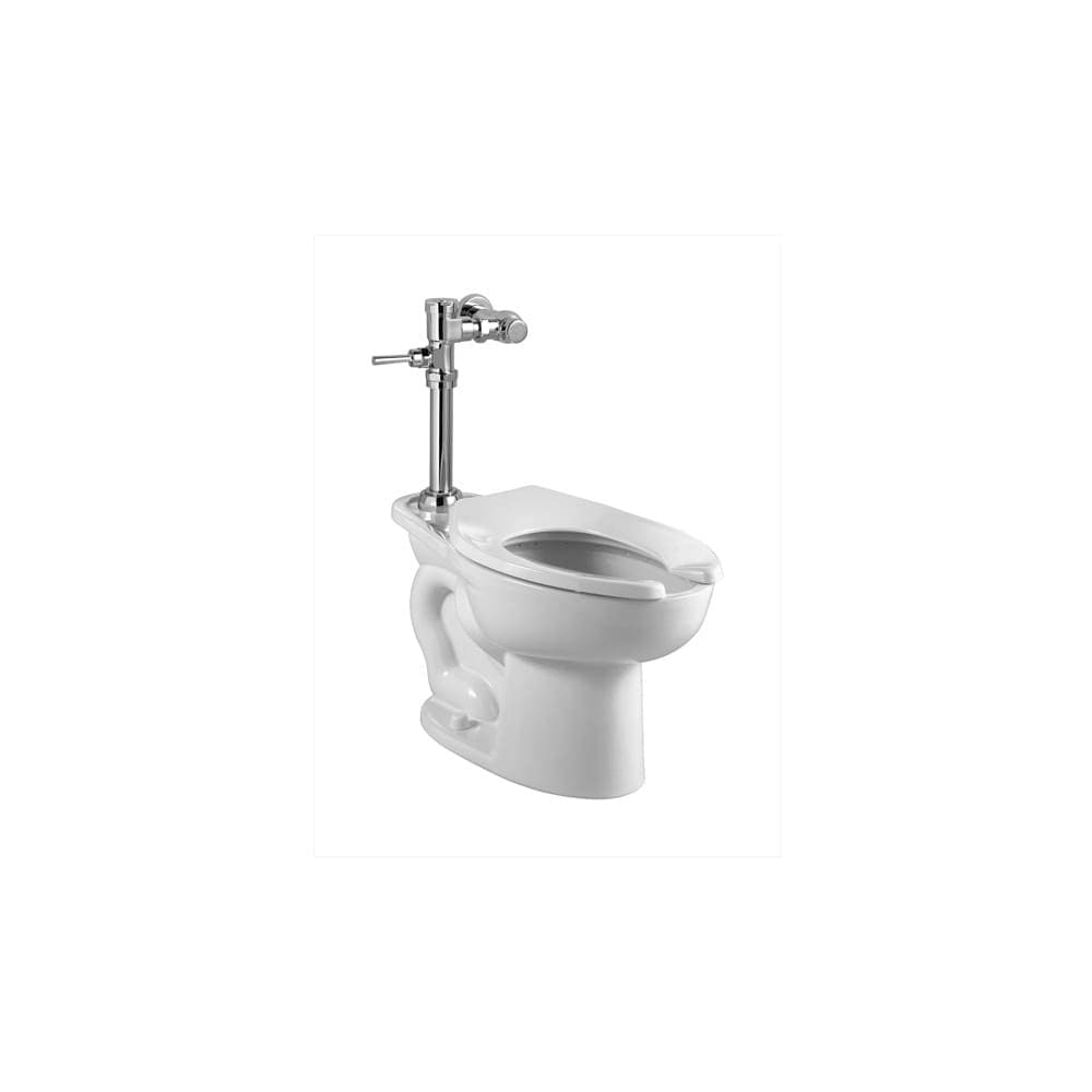 American Standard 2855 016 Evolution 2 One Piece Elongated Toilet With Left Mounted Trip Lever 1 6 Gpf And Right Height Bowl Overstock 16319703