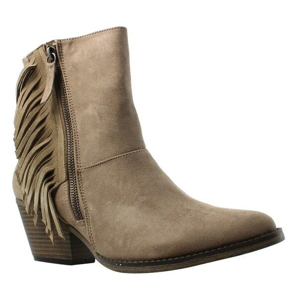 012794ec76bb Shop MIA Womens Jerry Brown Ankle Boots Size 7.5 - Free Shipping On ...