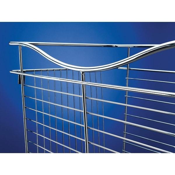 "Rev-A-Shelf CB-182007 CB Series 18 x 20 x 7"" Wire Pull-Out Closet Basket"