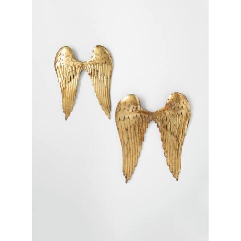 Sullivans Angel Metal Wings - Set of 2