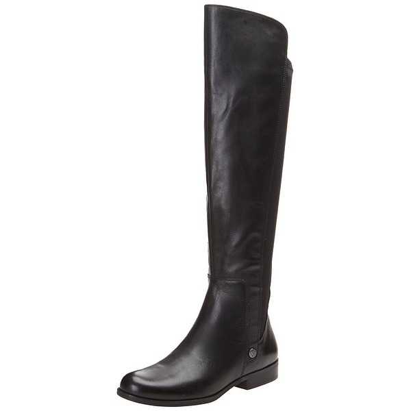 AK Anne Klein Women's Citygurl Leather Riding Boot