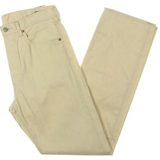 Levi's Mens Casual Pants Shrink to Fit Straight Leg - 32/34