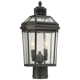 The Great Outdoors 72536-143 2 Light Outdoor Post Light from the Hawks Point Collection