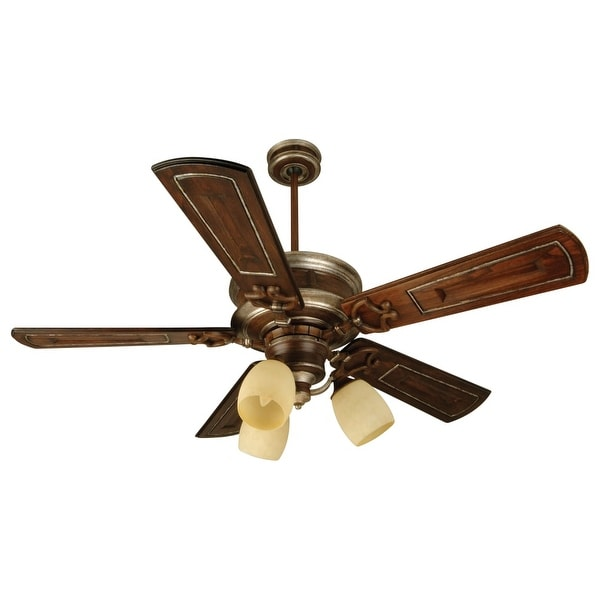 "Craftmade K10781 Woodward 54"" 5 Blade Energy Star Indoor Ceiling Fan - Blades and Light Kit Included"