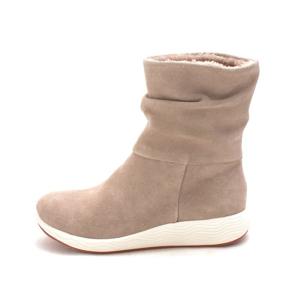 Bare Traps Womens lainey Closed Toe Mid-Calf Fashion Boots, taupe, Size 6.0