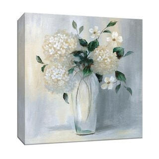 """PTM Images 9-147345  PTM Canvas Collection 12"""" x 12"""" - """"Carolina Springs Bouquet II"""" Giclee Flowers Art Print on Canvas"""