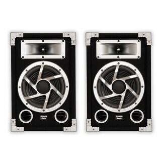 Acoustic Audio GX-450 PA Karaoke DJ Speakers 2-Way Pair Stereo Home Audio