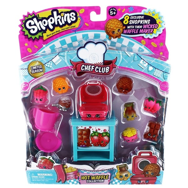 Shopkins Season 6 Chef Club Themed Set Waffle - multi