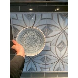 Euro Ceramica Fez 20-piece Crackle-glaze Stoneware Dinnerware Set (Service for 4)