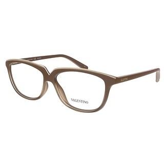 Valentino V2628 290 Nude Rectangular Valentino Eyewear