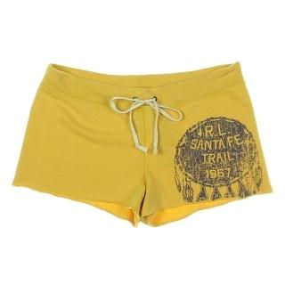 Denim & Supply Ralph Lauren Womens Cotton Graphic Casual Shorts