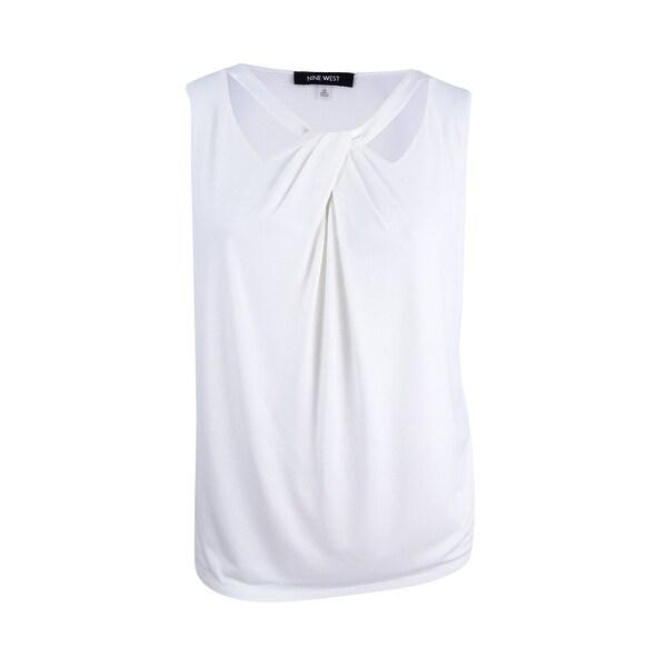 9769a5e1a5a1c Shop Nine West Women s Plus Size Criss Cross Cami Top (3X