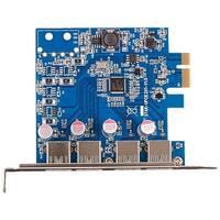 Visiontek Four Port USB 3 x1 PCIe Internal Card Four Port USB 3 x1 PCIe Internal Card
