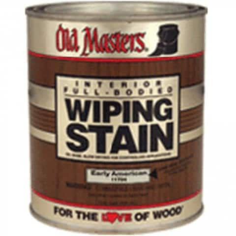 Old Masters 12416 Wipping Stain, Pickling White, 1/2 Pint