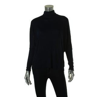 Zara W&B Collection Womens Ribbed Trim Long Sleeves Turtleneck Sweater